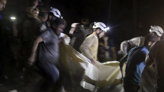 Ít nhất 17 người chết sau vụ không kích, theo tình hình Syria mới nhất
