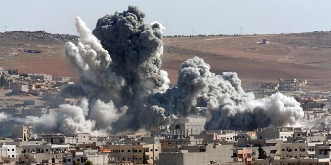 Tình hình chiến sự Syria mới cập nhật đưa tin, máy bay quân đội Nga và Syria đã tăng cường không kích Aleppo