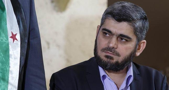 Ông Mohammed Alloush tuyên bố từ bỏ cương vị sau khi các cuộc đàm phán tại Geneva thất bại