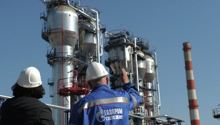 Ukraine trả trước 30 triệu USD mua khí đốt từ Nga