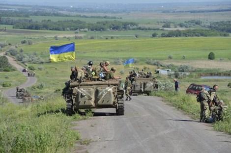 Tình hình Ukraine mới nhất cho biết Khu vực Donbass được dự báo đang bên bờ vực cuộc đại chiến