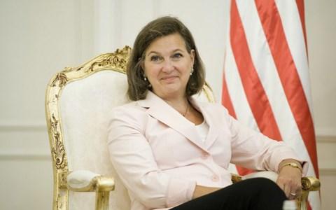 Trợ lý Ngoại trưởng Mỹ phụ trách các vấn đề châu Âu Victoria Nuland
