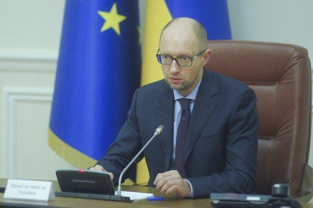 Thủ tướng Ukraine Arseniy Yatsenyuk tỏ ra cứng rắn với Nga