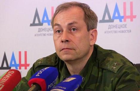 Eduard Basurin, phát ngôn viên quân đội DPR