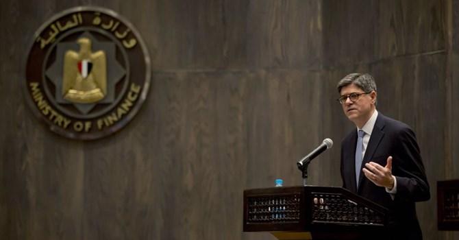Bộ trưởng Tài chính Mỹ Jacob Lew