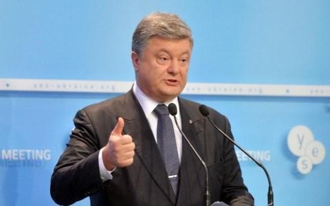 ổng thống Ukraine Porshenko tuyên bố về lệnh cấm vừa được ông đặt bút ký