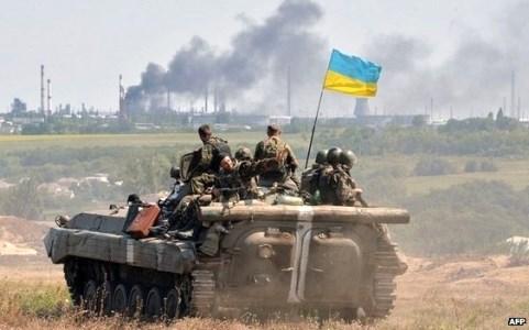 Binh sĩ Ukraine tại miền Đông nước này