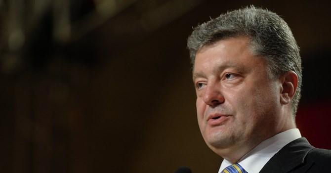 Tổng thống Ukraine Poroshenko