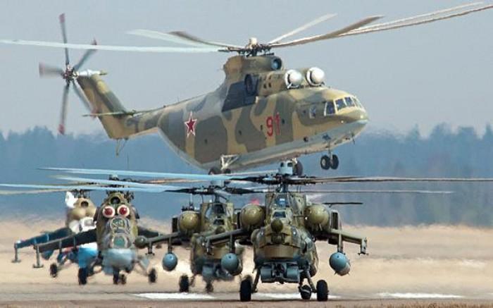 Các máy bay trực thăng Nga sẽ được thay thế các loại động cơ nội địa