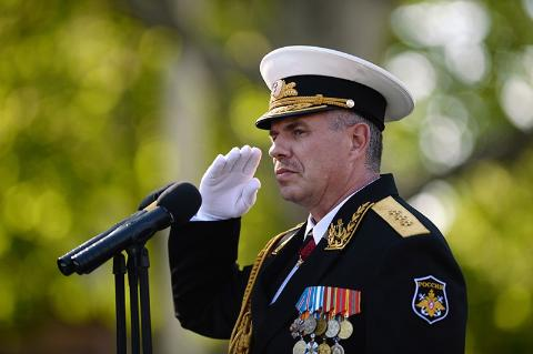 Tư lệnh Hạm đội Biển Đen Nga Alexandr Vitko