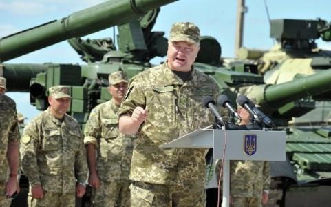 Ukraine điều 170 đơn vị thiết giáp tiến vào miền Đông