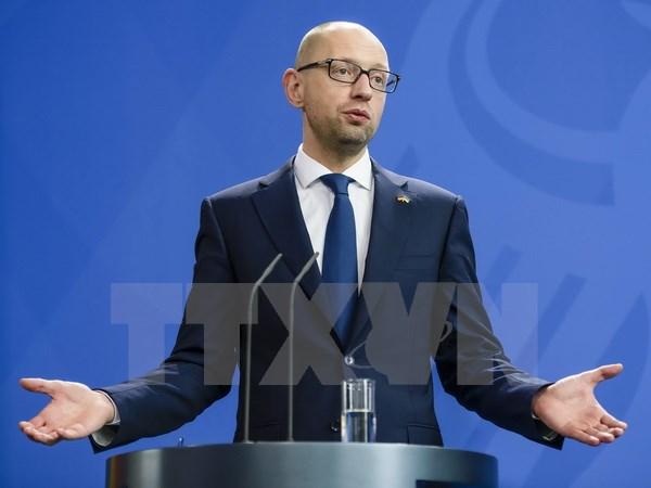 Thủ tướng Ukraine Arseniy Yatsenyuk