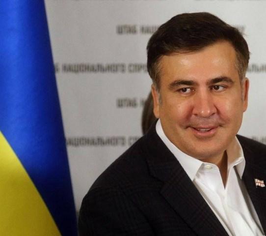 Cựu Tổng thống Georgia, Thống đốc Odessa Mikheil Saakashvili