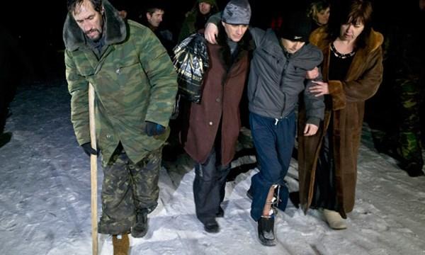 Tù binh ly khai được quân Ukraine thả