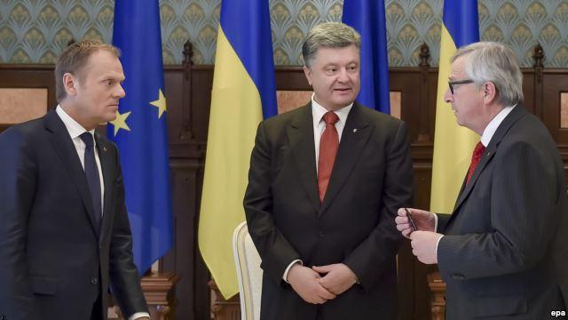 Tình hình Ukraine mới nhất cho biết hội nghị thượng đỉnh EU-Ukraine tổ chức tại Kiev hôm 27/4