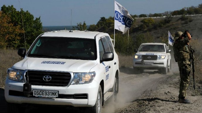 Tình hình Ukraine mới nhất cho biết Phe ly khai miền Đông Ukraine trục xuất quan sát viên OSCE