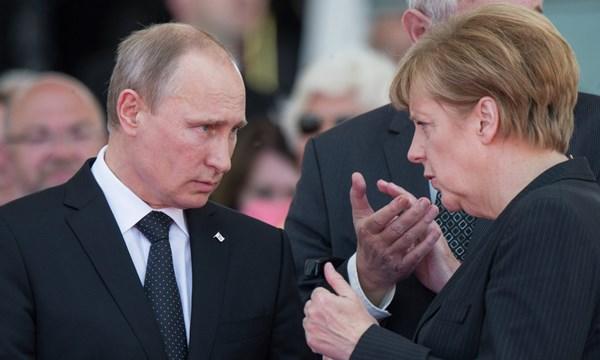 Tổng thống Putin và Thủ tướng Merkel sẽ sớm đối thoại trực tiếp với nhau