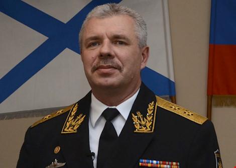 Tình hình Ukraine mới nhất cho biết Ukraine ra lệnh bắt giữ Tư lệnh hạm đội Biển Đen của Nga