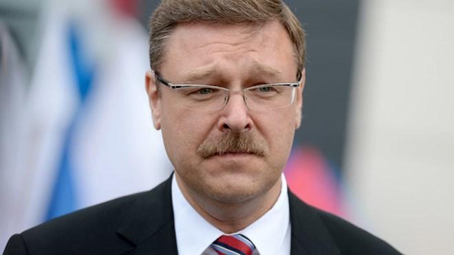 Chủ tịch Ủy ban Hội đồng Liên bang Nga về các vấn đề quốc tế, ông Konstantin Kosachev