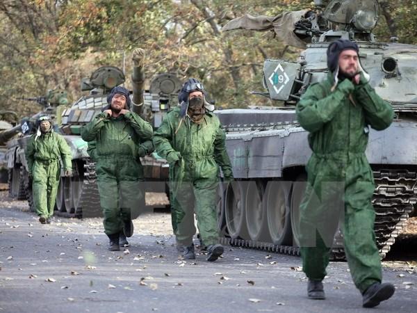 Tình hình Ukraine mới nhất cho biết khu vực Lugansk dỡ bỏ lệnh cấm phát hàng cứu trợ