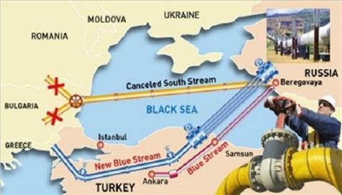 Nga cắt đứt 'Dòng chảy phương Nam', trong khi 'Dòng chảy Thổ Nhĩ Kỳ' đang bế tắc