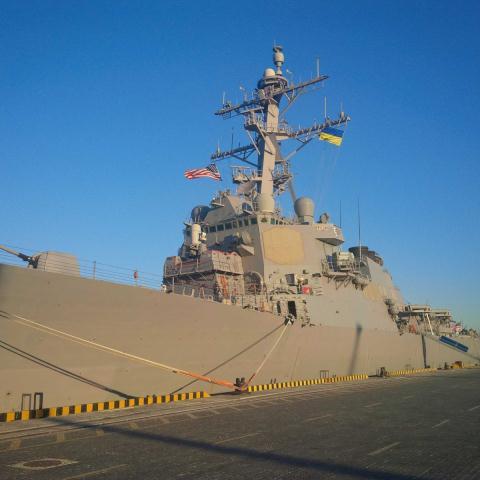 Tàu USS Ross của Hải quân Mỹ tới Ukraine tập trận, theo những tin tức về tình hình Ukraine mới nhất hôm nay