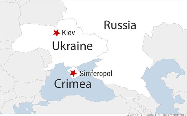Việc Nga sáp nhập Crimea bị Ukraine và phương Tây coi là nguyên nhân dẫn tới tình hình Ukraine hiện nay