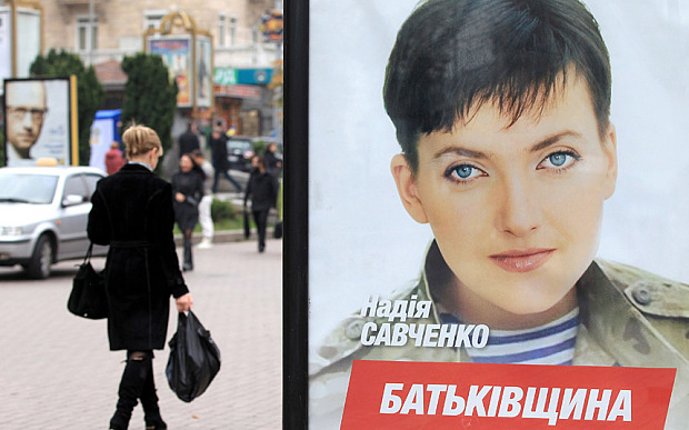 Cuộc bầu cử Quốc hội ghi nhận những gương mặt nổi lên từ sau nội chiến Ukraine như Savchenko
