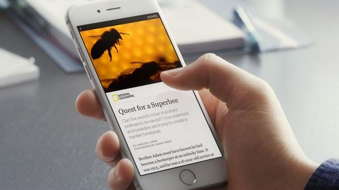Facebook đã cho ra mắt tính năng đọc toàn bài báo trên News Feed
