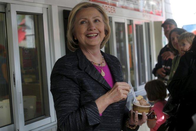 Bà Hillary Clinton đang tham gia cuộc tranh cử Tổng thống Mỹ