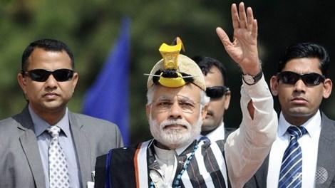 Thủ tướng Ấn Độ Narendra Modi đã tới khu vực biên giới mà Trung - Ấn đang tranh chấp.
