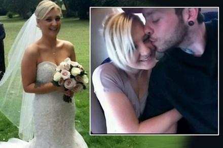 Amy Dawson chắc chắn là một trong những cô dâu xui xẻo nhất thế giới