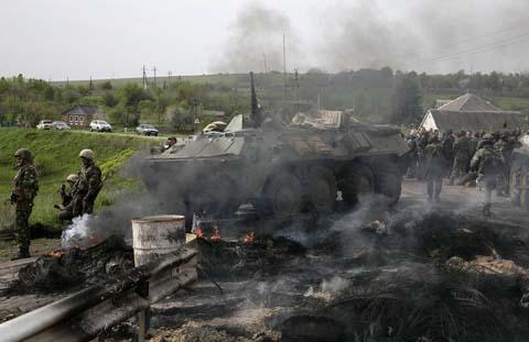 iao tranh ác liệt tại miền đông Ukraine khiến người dân Việt Nam ở đây rất khó khăn