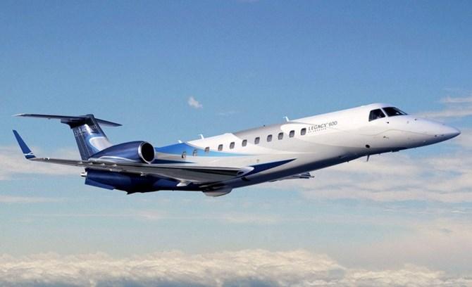 Legacy 600 là loại siêu máy bay kích thước trung bình chở được 13 hành khách