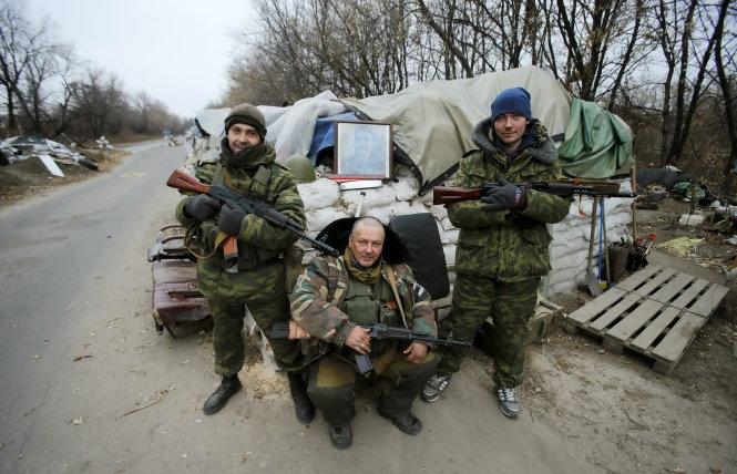 tin tức thời sự mới nhất hôm nay 20/11: Quân ly khai thân Nga trấn giữ ở Donetsk