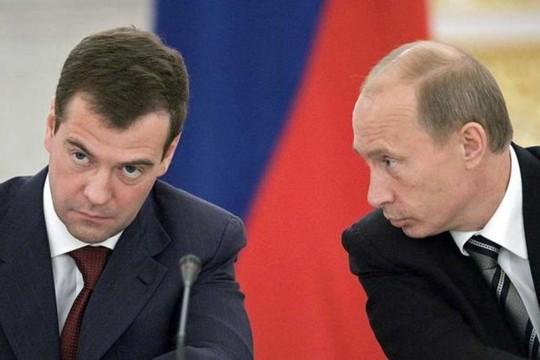 tin tức thời sự mới nhất hôm nay 23/11: Tổng thống Putin có thể cách chức ông Medvedev