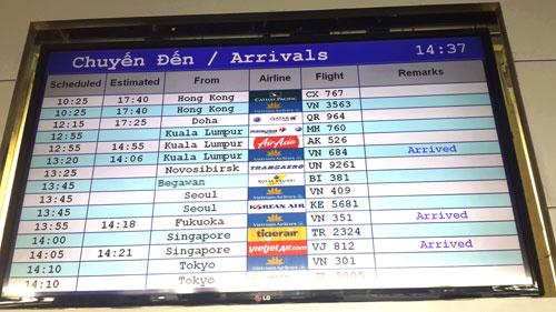 tin tức thời sự mới nhất hôm nay 24/11: Tê liệt sân bay Tân Sơn Nhất, bước đầu điều tra nguyên nhân
