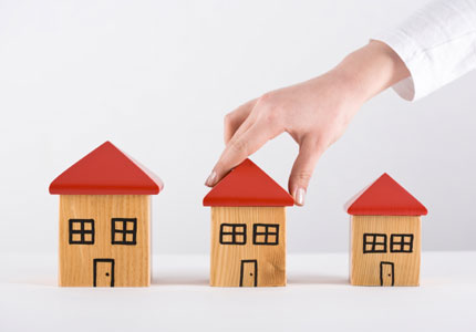 So sánh giá bán nhà tại các khu vực