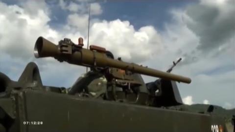 Súng chống tăng SPG-9 được trang bị trên các xe thiết giáp trong quân đội nhân dân Việt Nam