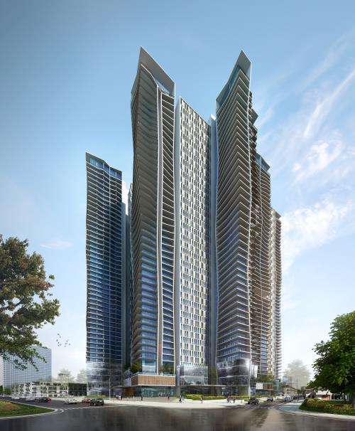 Tổ hợp khách sạn 5 sao và căn hộ cao cấp Ánh Dương- Soleil Đà Nẵng với tổng số vốn đầu tư khoảng 10.000 tỷ đồng