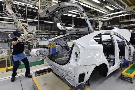 Năng suất tại nhà máy điện Tokyp sẽ được cải thiện nhờ vào phương pháo tinh gọn TPS của Toyota