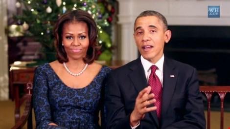 Tổng thống Mỹ Obama và vợ
