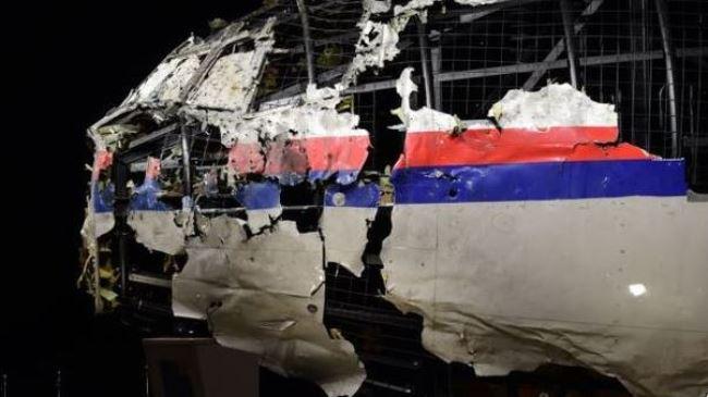 Phần đầu máy bay MH17 được phục dựng