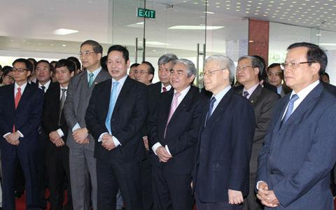 Tổng bí thư Nguyễn Phú Trọng thăm các doanh nghiệp thuộc FPT