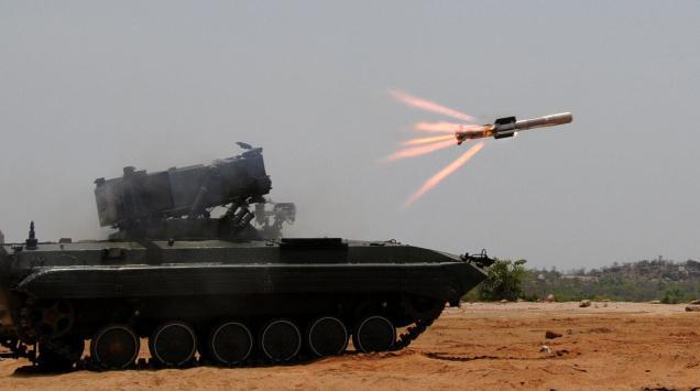 Tên lửa diệt tăng Nag là thứ vũ khí quân sự Ấn Độ tự phát triển