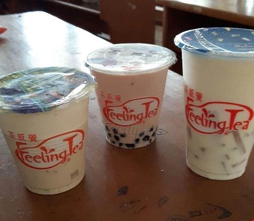 Trà sữa Feeling Tea được nhiều giới trẻ ưa thích
