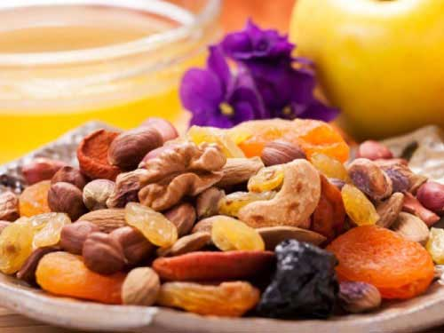 trái cây sấy làm tăng cân