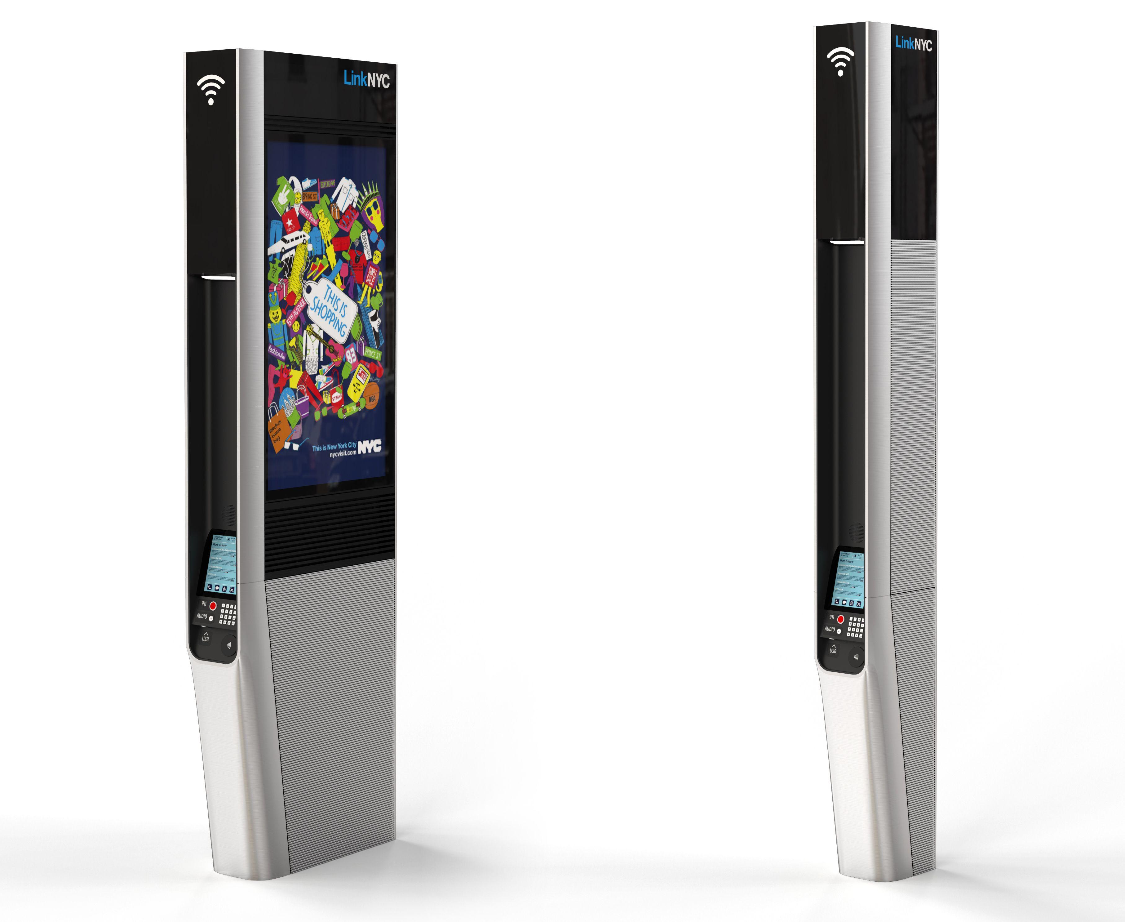 Trạm phát Wifi miễn phí ở thành phố New York sẽ đảm nhiệm luôn vai trò của những biển quảng cáo