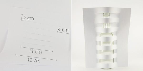 Cách tự chế bình hoa bằng giấy để trang trí nhà