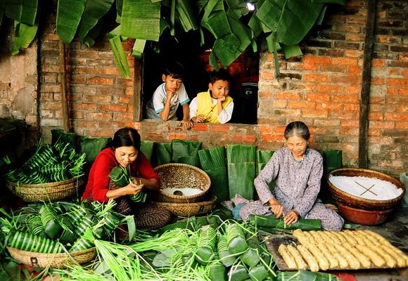 Ngày xuân lang thang qua các miền ẩm thực của người Việt